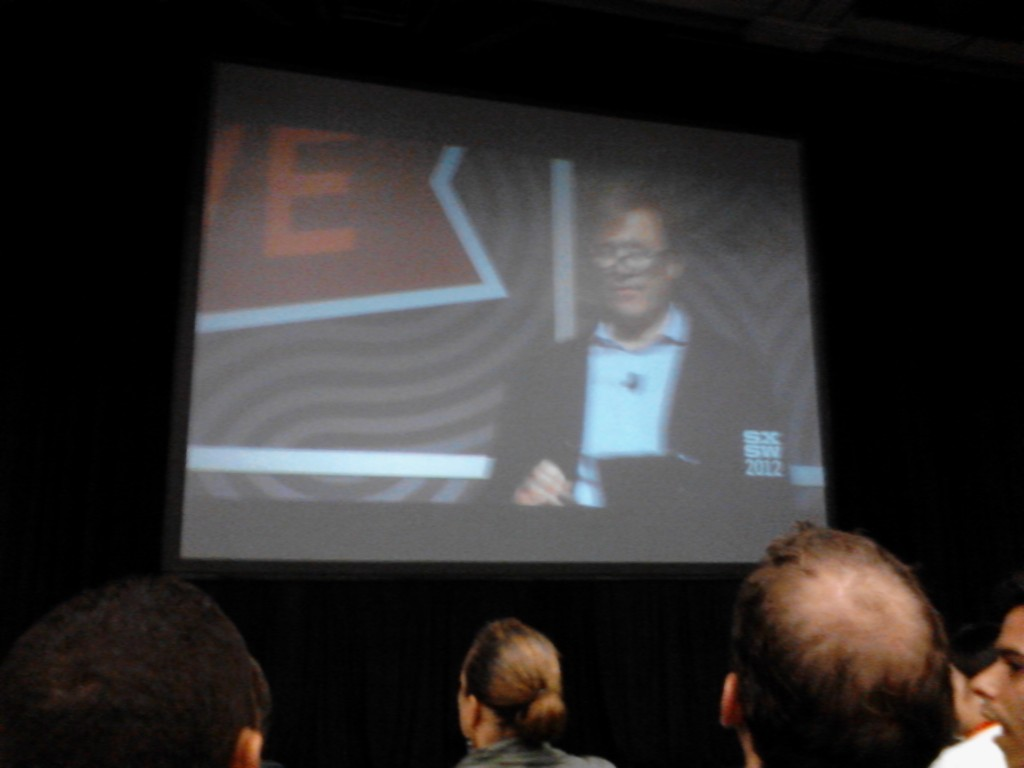 Gordon speaking at SXSWi