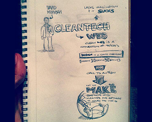 cleanweb drawing