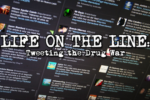 life on the line tweeting the drug war
