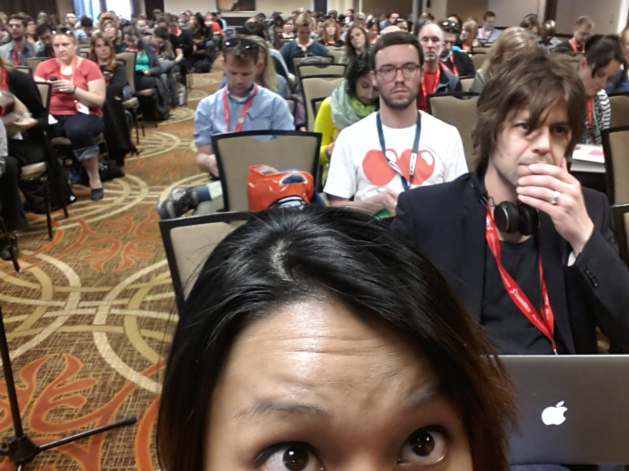 It was a full house for this panel