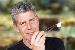 Anthony Bourdain (pictured) will discuss the future of food and travel journalism with Nathan Thornburgh.