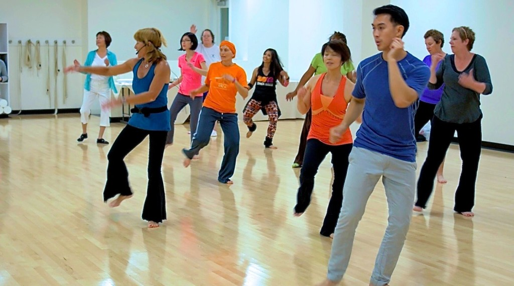 Class takes place every week at Stanford and are recorded for patients to dance along with.